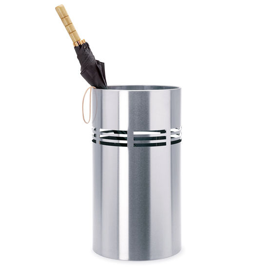 Blomus Brushed Stainless Steel Umbrella Stand