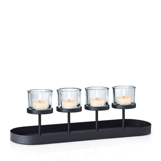 With Tealights