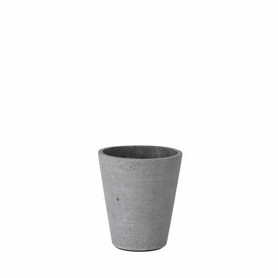 Blomus Coluna Collection Flower Pot, Small, 4''Dia x 5''H