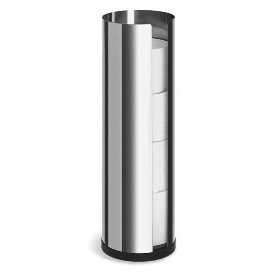 Blomus Nexio Polished Stainless Steel Toilet Paper Holder for 4 Rolls