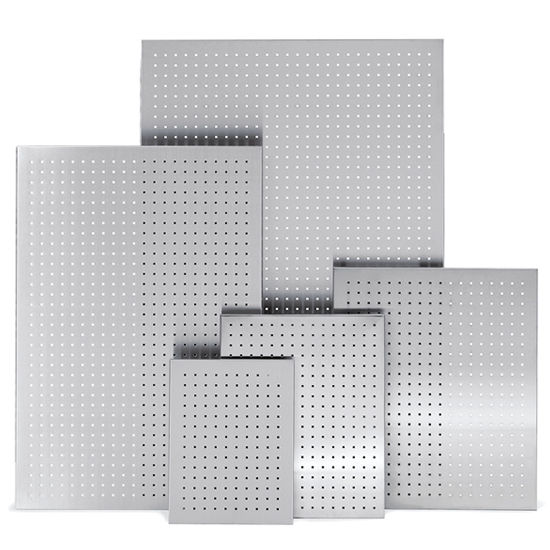 Kitchen Backsplash Perforated Magnet Board In Matt