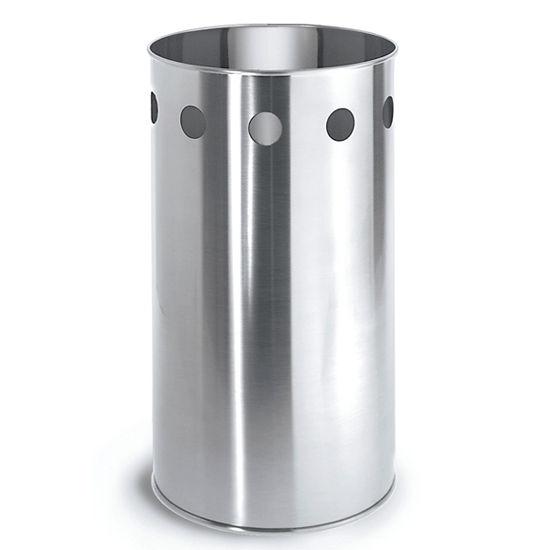 Blomus Brushed Stainless Steel Wastepaper Basket