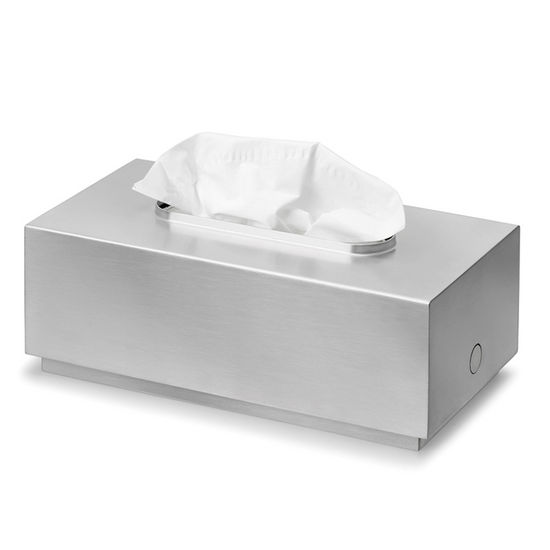 Blomus Primo Brushed Stainless Steel Tissue Box