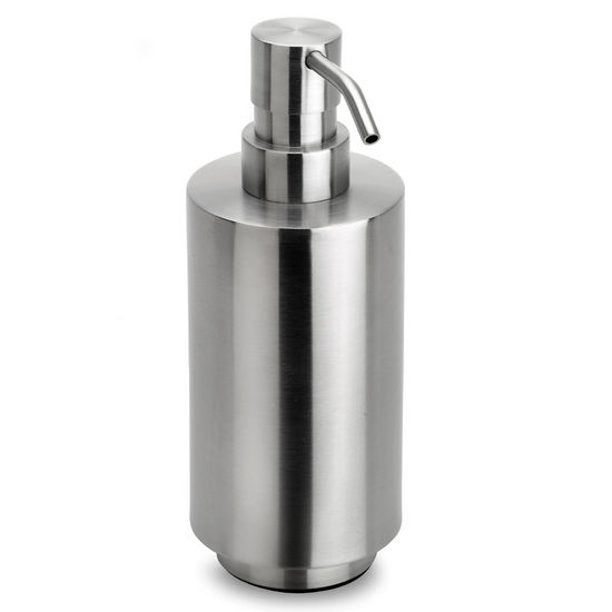 Blomus Primo Brushed Stainless Steel Soap Dispenser