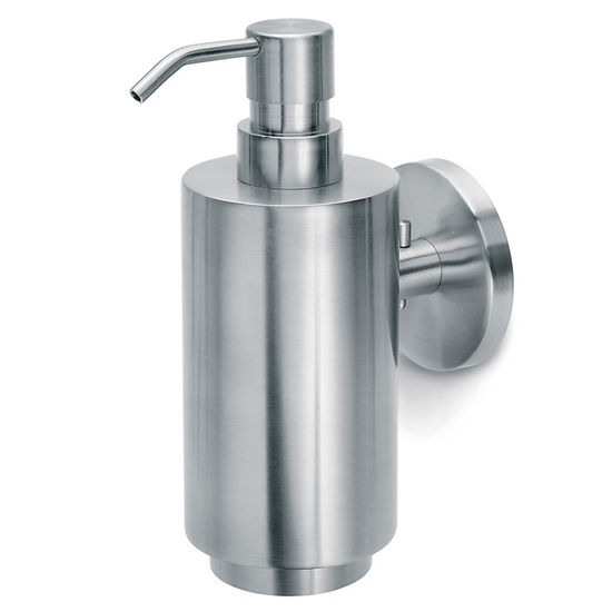 Blomus Primo Brushed Stainless Steel Wall Mounted Soap Dispenser