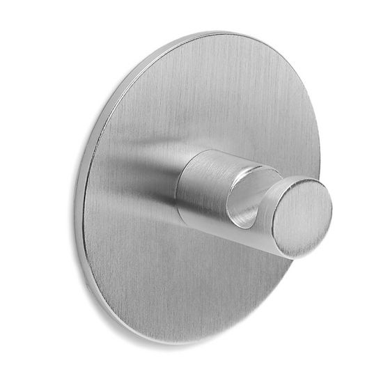 Blomus Primo Brushed Stainless Steel Self-Adhesive Wall Hook
