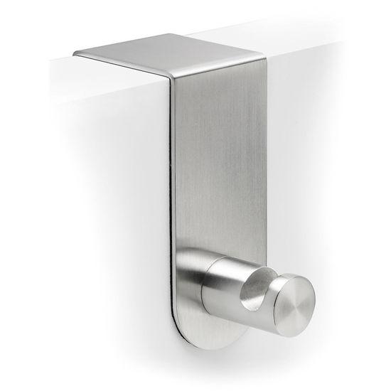 "Blomus Primo Brushed Stainless Steel Over Door Hook 1,6"""