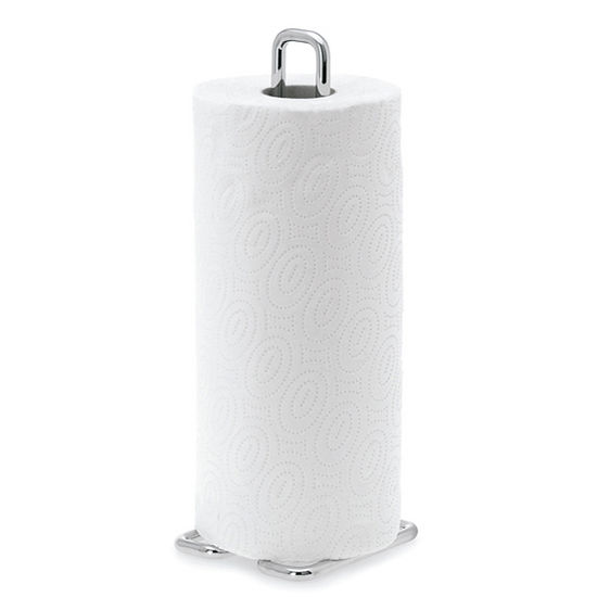 Blomus Wires Collection Paper Towel Holder in Chrome-Plated Finish, 4-3/10'' W x 4-3/10'' D x 12-1/5'' H