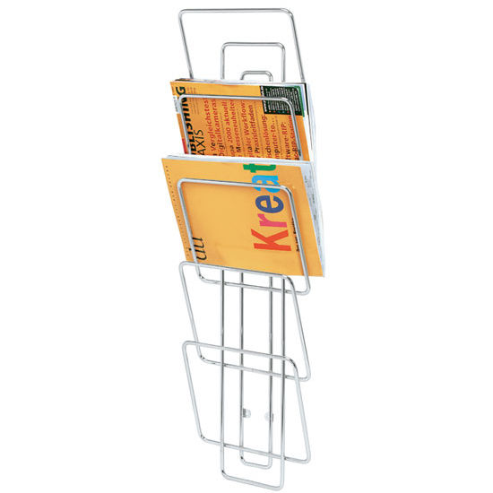 Blomus Wires Wall Mounted Magazine Rack in Metal Wire