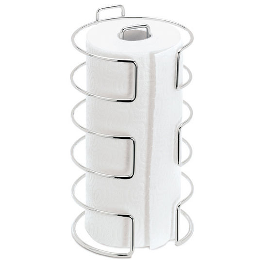 Blomus Wires Collection Paper Towel Holder in Chrome-Plated Finish, 6-1/10'' Diameter x 11-1/5'' H