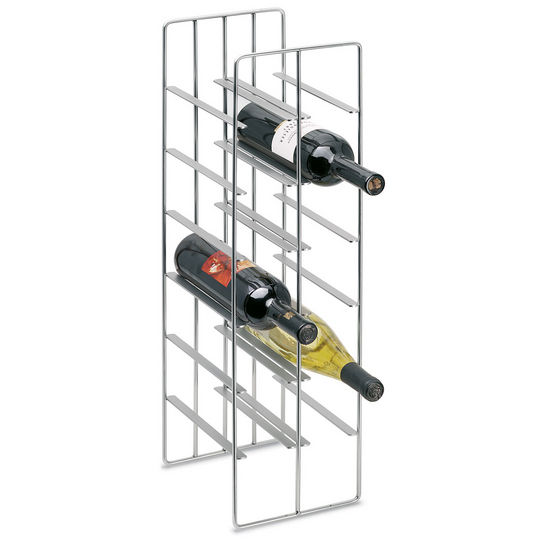 12 Bottle Steel Wine Rack