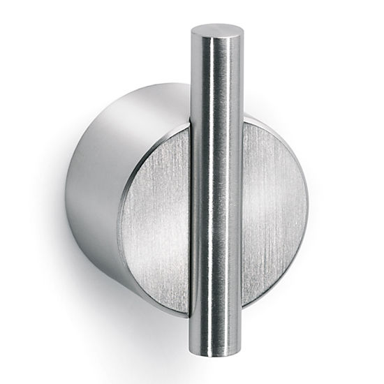 Blomus Duo Brushed Stainless Steel Self-Adhesive Wall Hook