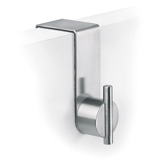 Blomus Duo Brushed Stainless Steel Over Door Hook 1.6""