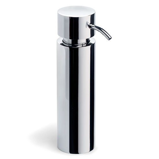 Blomus DUO Poliert Free Standing Soap Dispenser in Polished Stainless Steel