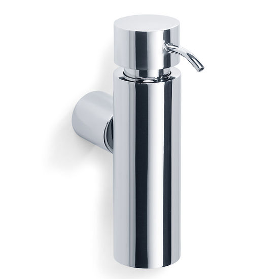 Blomus DUO Poliert Wall Mounted Soap Dispenser in Polished Stainless Steel
