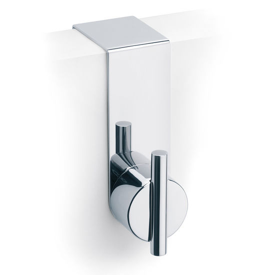 "Blomus Duo 1.6""D Overdoor Hook in Polished Stainless Steel"