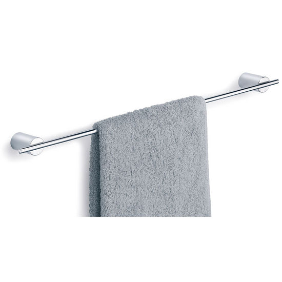 "Blomus DUO Poliert 23.6"" Towel Rail in Polished Brushed Stainless Steel"