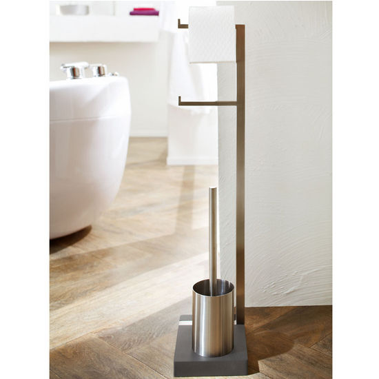Blomus Toilet Butler with Black Base