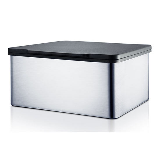 7cd2b807799 Menoto Collection Tissue Storage Box in Satin Stainless Steel or ...