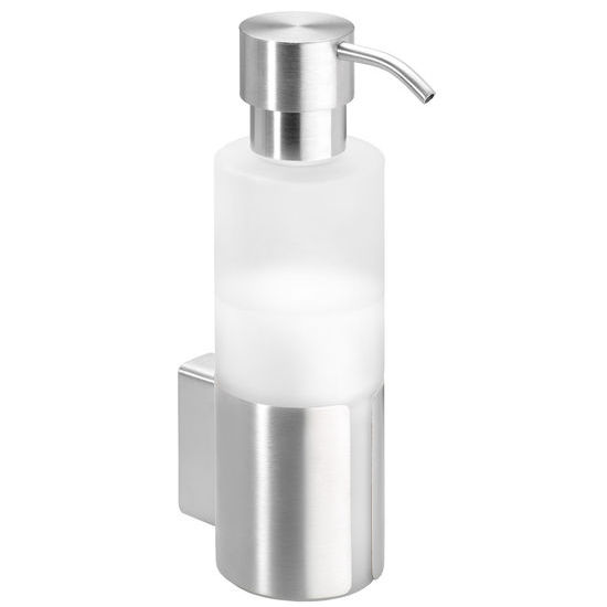 Blomus Wall Mounted Soap Dispenser, Frosted