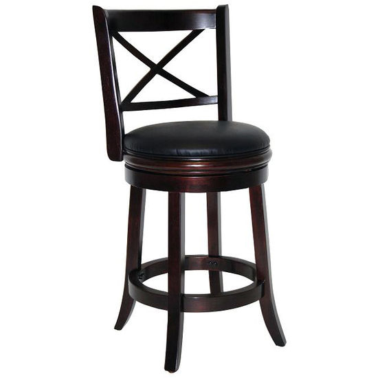 Bar Stools Georgia Quot Swivel Seat Bar Stool From Boraam