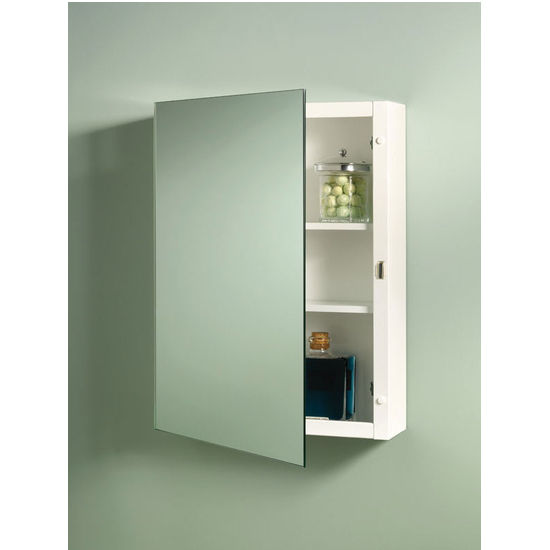 Broan Top Sider Frameless Bathroom Medicine Cabinet