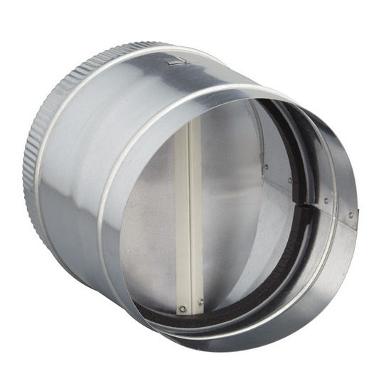 Broan Ducting And Installation Accessories Round Damper For Range Hoods And Bath Ventilation