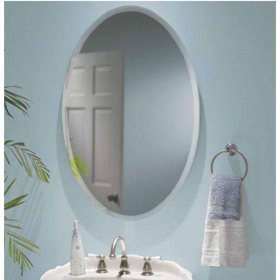 Broan Metro Shapes Frameless Bathroom Cabinet