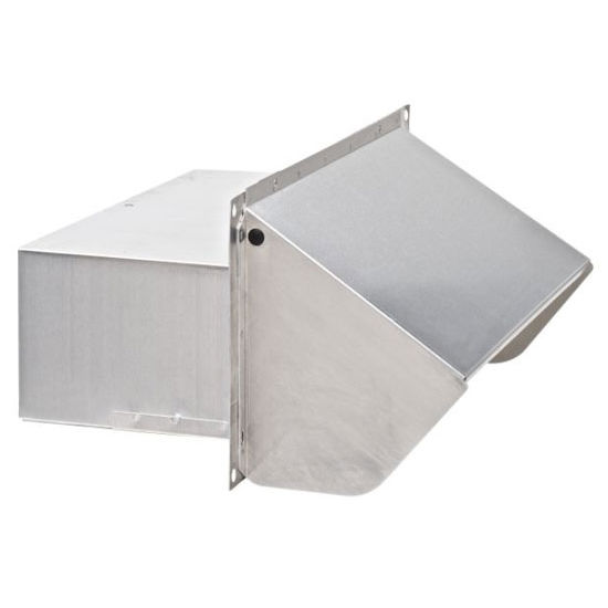 Broan Ducting And Installation Accessories: Aluminum Wall Caps For Ducts