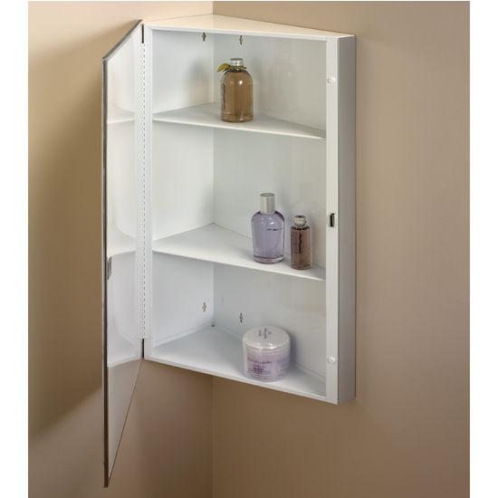 Medicine cabinets corner bathroom medicine cabinets by Corner medicine cabinet