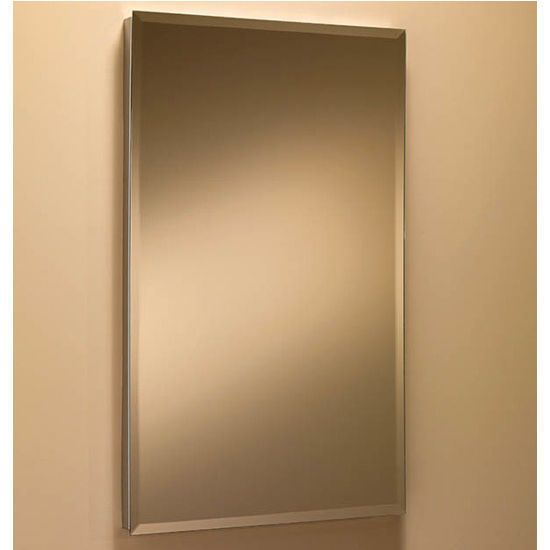 Broan Solid Stainless Steel Frameless Medicine Cabinet