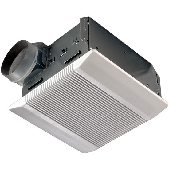 Broan 8814 Series Ceiling Mount Ventilation Fan, 110 CFM