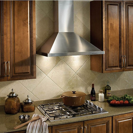 Wall Mounted Traditional European Style Chimney Hood In