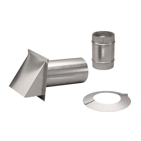 Broan Ducting And Installation Accessories Aluminum Wall