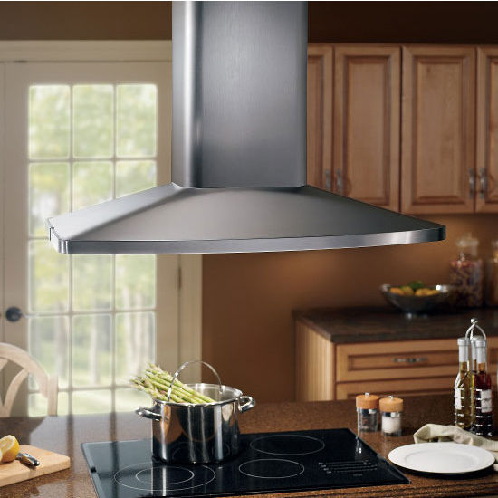 Range Hoods - Elite Island Mounted Range Hood With Multi Speed ...