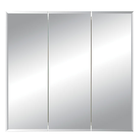 Jensen (Formerly Broan) Horizon Frameless Tri View Medicine Cabinet |  KitchenSource.com
