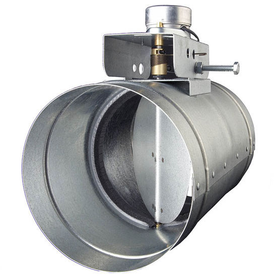 Automatic Make-Up Air Dampers