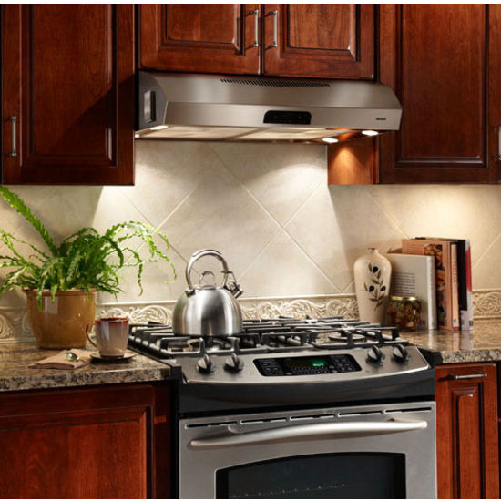 Range Hoods Evolution Qp3 Series Under Cabinet Mount