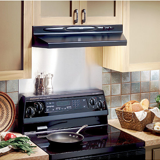 Broan QT20000 Quiet Series Under Cabinet Mount Range Hood
