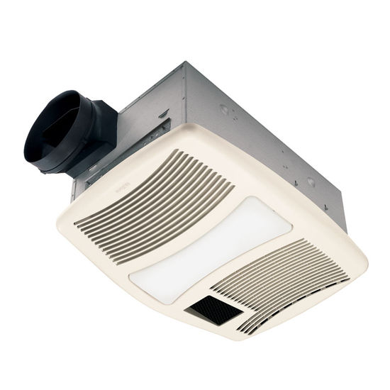 Broan 110 CFM Fan/Light/Heater