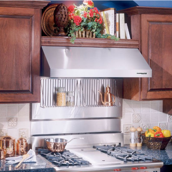 range hoods stainless steel backsplash with shelves. Black Bedroom Furniture Sets. Home Design Ideas