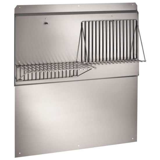 Very best Range Hoods - Stainless Steel Backsplash with Shelves, Available  CC72