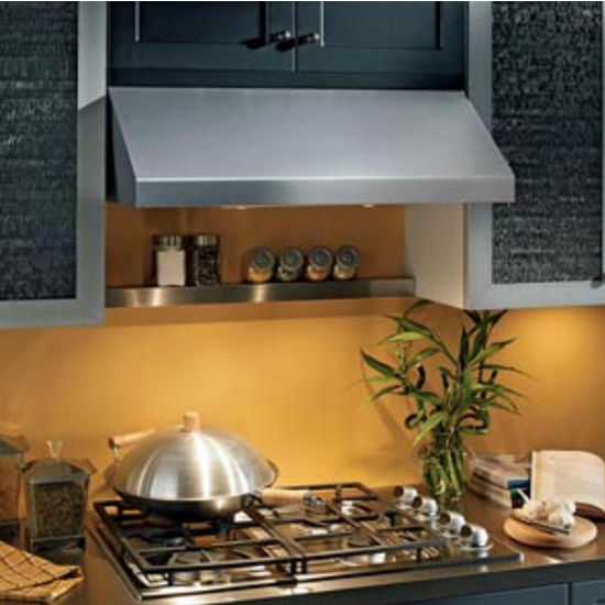 "Broan Elite Pro-Style RP Series Under Cabinet Mount Range Hood, 440 CFM, Stainless Steel, 30"" & 36"" Widths Available"