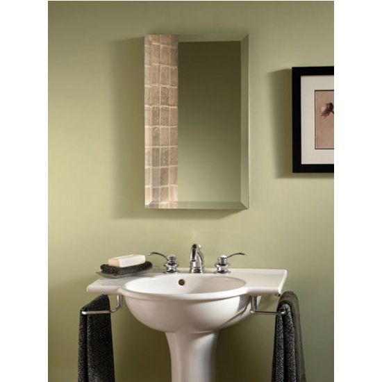 Broan Nutone Studio IV Frameless Bathroom Medicine Cabinet