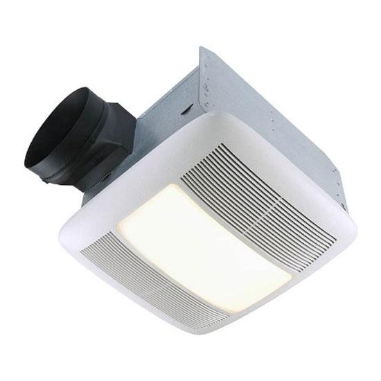 Bathroom fans broan nutone qtxen series ultra silent - Ultra quiet bathroom exhaust fan with light ...