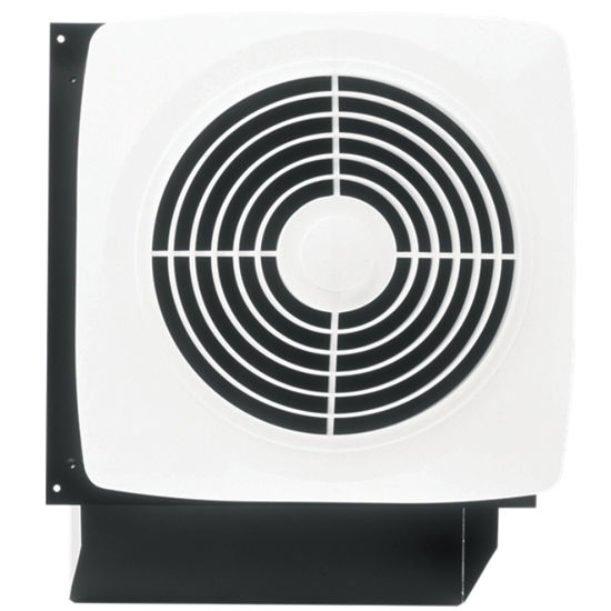 Broan Through Wall Discharge Utility Fan, 270 CFM