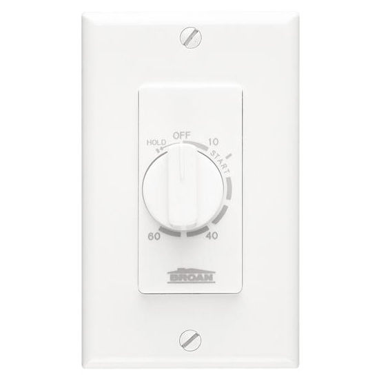 Broan 60 Minutes Decorator Time Control, Ivory