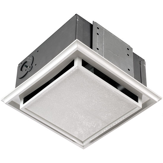 Bathroom fans brl 682 ductless bathroom exhaust fan by broan broan ductless bathroom exhaust fan aloadofball Image collections