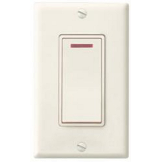 Broan Single Function Indicator Light Control, White