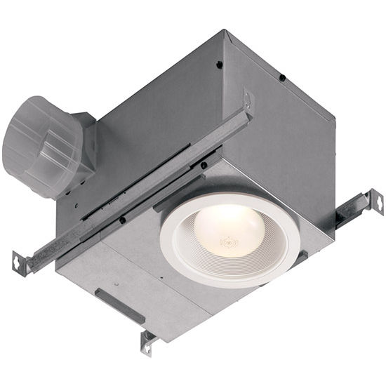 Broan 39 s recessed exhaust fan combines the utility of a for 6 bathroom exhaust fan